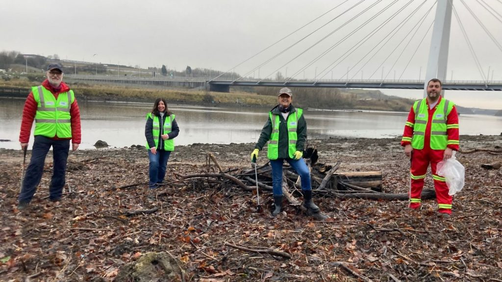 The latest Climate Action North initiative focuses on cleaning up areas of the North East Rivers.
