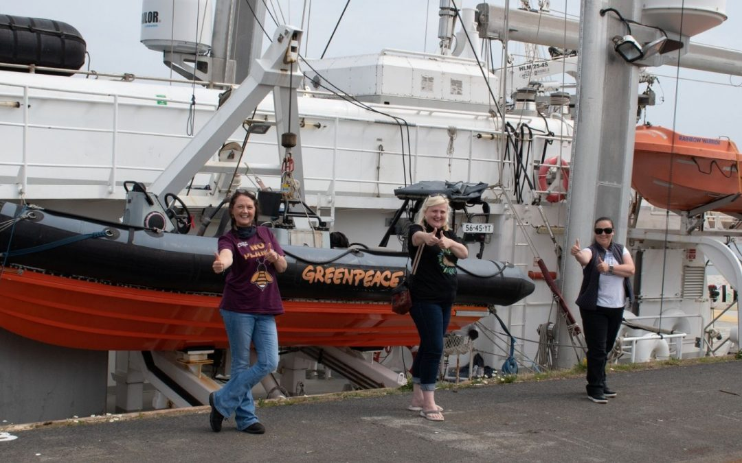 Climate Action North support Greenpeace's Just Transition campaign